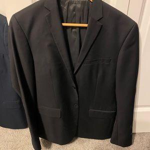 Black H&M blazer mens slim fit 36R